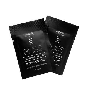 Ananda Touch Bliss Cannabis Infused Intimate Oil 10mg Active Cannabinoids